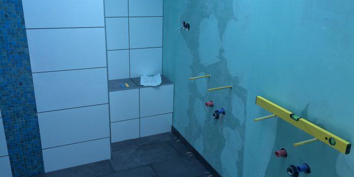 Sanitär Installation im Bad