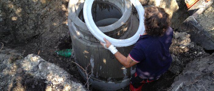 Kanalsanierung mit Gulli-Installation