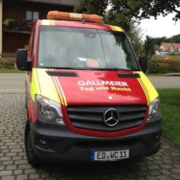 Sprinter für Notdienst