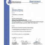 Abscheidetechnik-Fachkundelehrgang-Niko