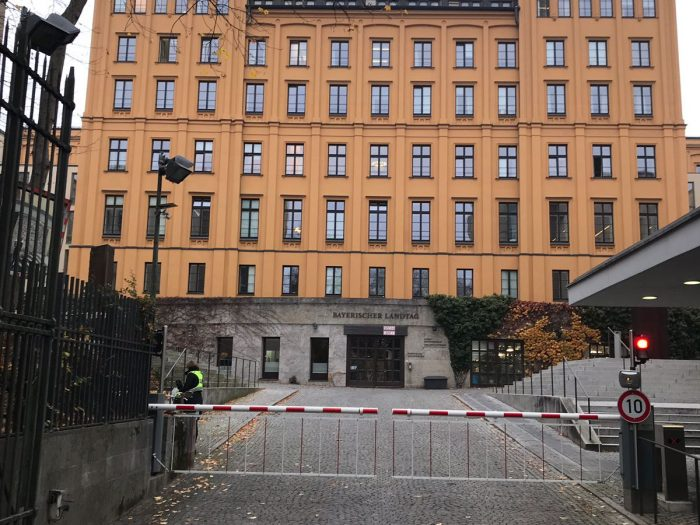Bayrischer Landtag - Rückseite