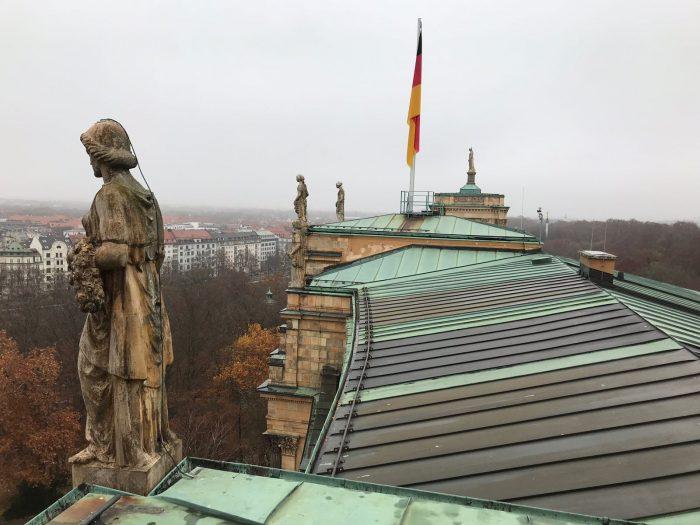 Dachrinnenreinigung - Altbauten in München