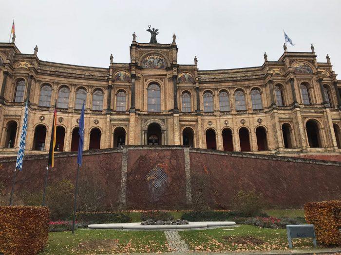 Dachreinigung - Bayrischer Landtag